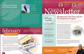 best newsletter design 4 pages newsletter template metroeast design inspiration