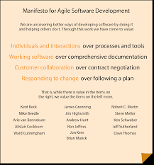 choosing dsdm as your agile approach agile business consortium the manifesto for agile software development although dsdm takes the concept of agile far wider than just software the dsdm agile project framework