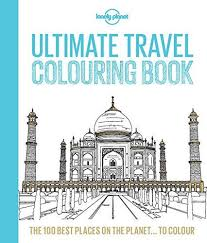 unusual design travel coloring book ultimate lonely planet lonely