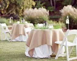 wedding table covers burlap table cover etsy