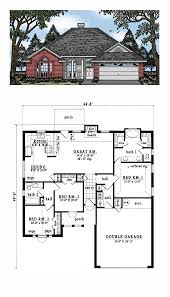 european house plan 79052 total living area 1315 sq ft 3