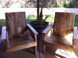 Patio Furniture Made Out Of Wooden Pallets by Backyard Deck Diy Pallet Chairs Pallets Pallet Wood And Patios