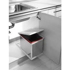 poubelle cuisine 100 litres poubelle coulissante dans poubelle achetez au meilleur prix avec