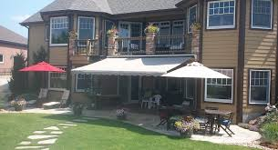 Sunsetter Awnings Linfieldconstruction Sunsetter Awnings Concrete Patios Ft Collins Co