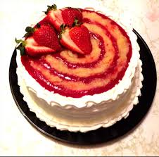 authentic tres leches cake with strawberry pineapple filling and