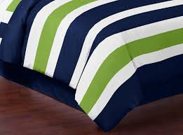 Green And White Duvet Amazon Com Navy Blue Lime Green And White Childrens Kids Teen 3