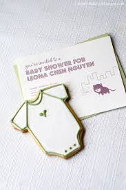 i heart baking cat cookies and onesie cookies for a baby shower