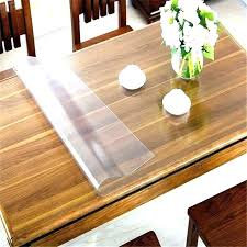 clear vinyl table protector table top protector table top protector coffee table protector
