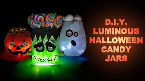 halloween party banner diy halloween luminous candy jars halloween party decorations