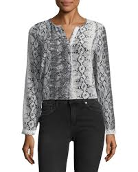 snake print blouse check out these bargains on joie s silk romona snake print