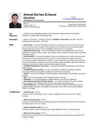 sle cv for job cv for accountant job junior jobs resume sle practical accordingly
