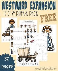 westward expansion tot u0026 prek k pack
