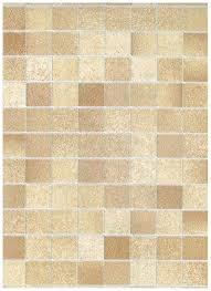Faux Stone Kitchen Backsplash Interior Place Tile Stone Tan Mosaic Contact Paper 12 99 New