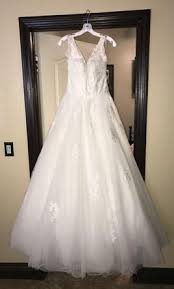 Alfred Angelo Wedding Dress Alfred Angelo 2577 600 Size 12 Used Wedding Dresses