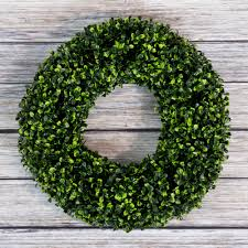 artificial boxwood wreath boxwood wreath artificial wreath for the front door by