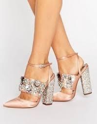 wedding shoes asos asos papaya bridal embellished heels shoes fashion