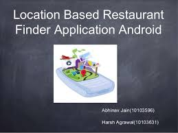 android finder restaurant finder android application project presentation