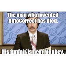 Who Invented Memes - autocorrect man invented iphone willferrell lol meme news