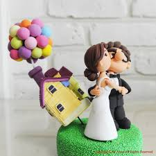 up cake topper disney s up version custom wedding cake topper