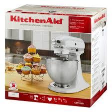 kitchenaid classic series 4 5 quart tilt head stand mixer white