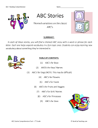 printable reading comprehension test first grade reading comprehension worksheets have fun teaching