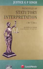 lexisnexis yellow book principles of statutory interpretation justice g p singh