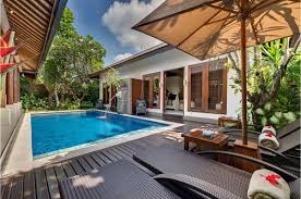 accommodation by the beach in bali villa kawi