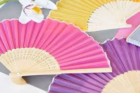 fan favors silk fans bamboo fan wedding favors tea and becky
