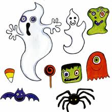 Halloween Cut Outs Cut Outs Sheets