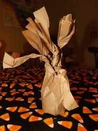 Halloween Brown Paper Bag Crafts Paper Bag Halloween Tree My Craft Adventures