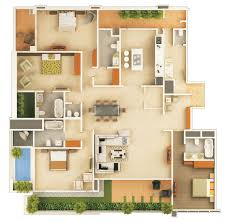 3d floor plan software the fantastic colored floor plans for