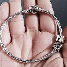 pandora charm bracelet clasp images 15 off pandora jewelry pandora heart clasp bracelet from jpg