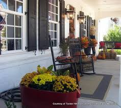 Fall Decorated Porches - autumn decorating ideas made easy