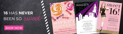 sweet 16 birthday party invitation wording examples