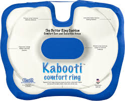 kabooti a comfortable all day seat cushion with donut hole and