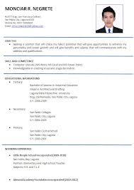 example of resume form best resume examples for your job search