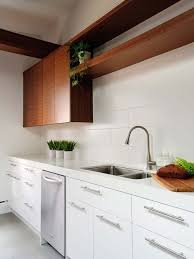 White Modern Kitchen Cabinets Houzz - Modern kitchen white cabinets
