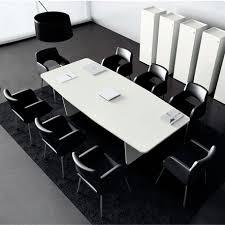 Black Boardroom Table Contemporary Boardroom Table Wooden Metal Rectangular