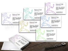 Singapore Business Cards Modern Upmarket Business Card Design For Natural Path By The Suit