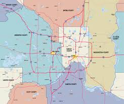 Mn Counties Map Relocating To The Twin Cities Visit Twin Cities
