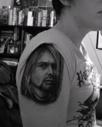 tattoo of the week u2013 kurt cobain life music media