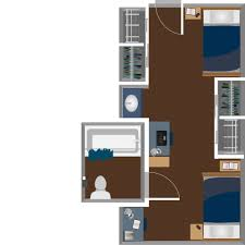 honors hall housing west virginia university view double suite layout floor plans