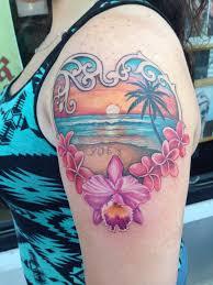 25 gorgeous hawaiian tattoos ideas images sheideas