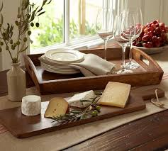 personalized cheese plate vintage wood cheese board pottery barn