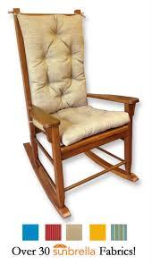 Sunbrella Patio Furniture Sets - sunbrella outdoor rocking chair cushions rockersdirect com
