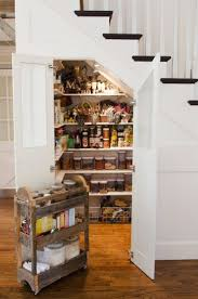 Kitchen Storage Pantry by Best 25 Under Stairs Pantry Ideas On Pinterest Under Stairs