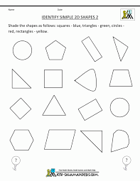 appealing 3d shapes worksheets shape identify simple photocito