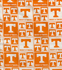 Tennessee Vols Home Decor University Of Tennessee Ncaa Cotton Fabric Joann