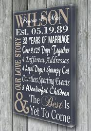 15th wedding anniversary gift personalized 5th 15th 25th 50th anniversary by doudouswooddesign