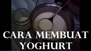 cara membuat yoghurt yang kental cara membuat yoghurt dijamin berhasil youtube
